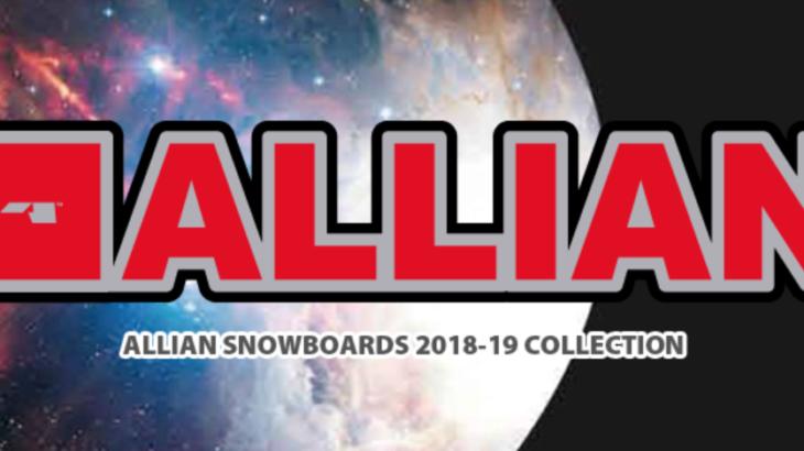 グラトリにおすすめな板(ALLIAN・アライアン)2018-2019