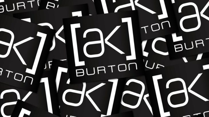 BURTON で買い物して『[ak]ステッカー』を貰おう!キャンペーン実施中!